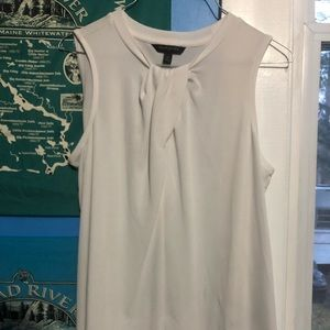 Small banana republic white dress tank